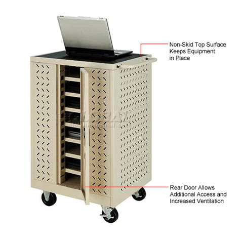 12 tablet chromebook computer charging cart from 433 00 computer furniture laptop charging carts cabinets