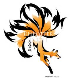 Tailed fox tattoo meaning japanese nine tailed fox related keywords