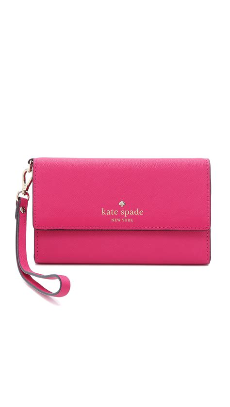 kate spade cedar street iphone 6 6s case wristlet in kate spade new york cedar street iphone 6 6s case