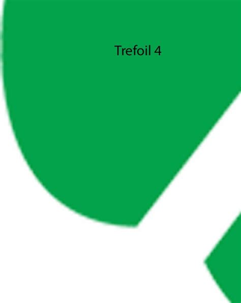 scout trefoil template project bon bon trefoil pattern to print