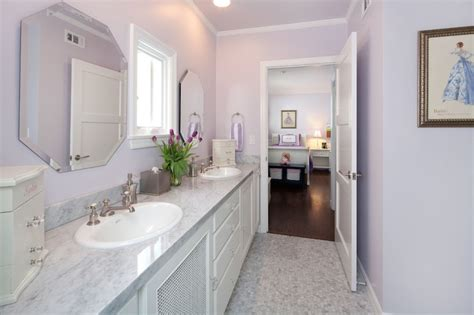 shared bathroom design shared girls bathroom transitional girl s room