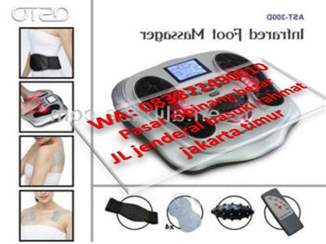 Alat Pijat Elektrik Omron alat pijat kaki elektrik untuk terapi stroke dan saraf