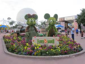 Epcot flower garden festival 2015 walt disney world