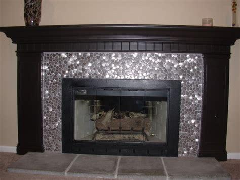 mosaic tile river rock pattern mosaic stainless steel