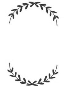 wreath clipart fern pencil and in color wreath clipart fern