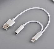 Image result for iPhone USB Headset Adapter. Size: 173 x 160. Source: www.aliexpress.com
