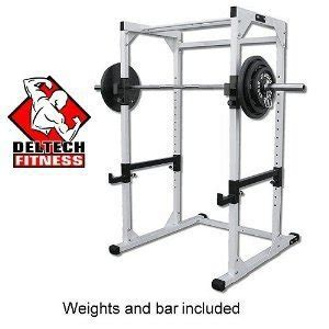 chuck norris weight bench amazon com power rack olympic 300 lbs set olympic
