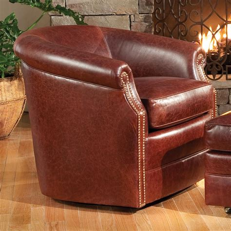 barrel chair with ottoman smith brothers accent chairs and ottomans sb barrel swivel