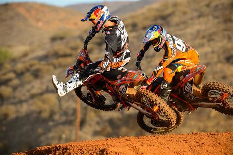 Ktm Supercross Team Bull Ktm 2013 Ama Supercross And Motocross Photo Shoot