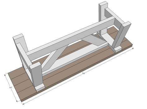 2x4 bench seat plans spaces for woodworking this is kreg jig bench plans