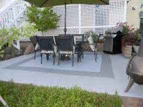 how to paint a concrete patio painted concrete patio my garden