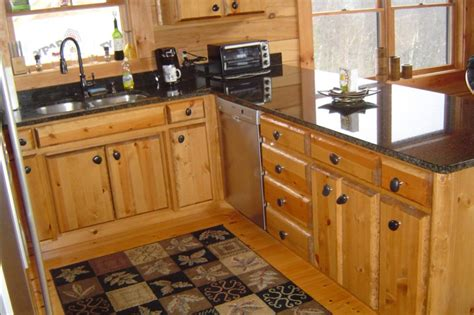 Rustic Log Kitchen Cabinets Cabinets