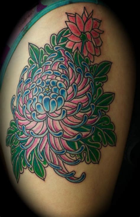 chrysanthemum flower tattoo 17 best images about chrysanthemum on