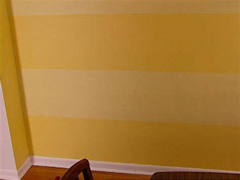 Hgtv Home Decorating Shows How To Paint Stripes On A Wall Hgtv