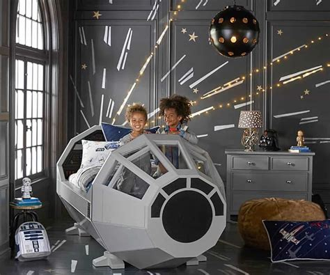 millenium falcon bed the force may sleep with you in the millennium falcon bed