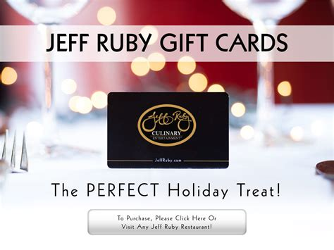 Carlo And Johnny Gift Card - jeff ruby culinary entertainment