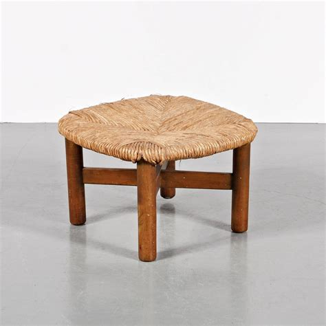 Wicker Stools For Sale by Wim Boon Rattan Stool Circa 1950 For Sale At 1stdibs