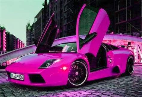 pink luxury cars pink car luxury cars