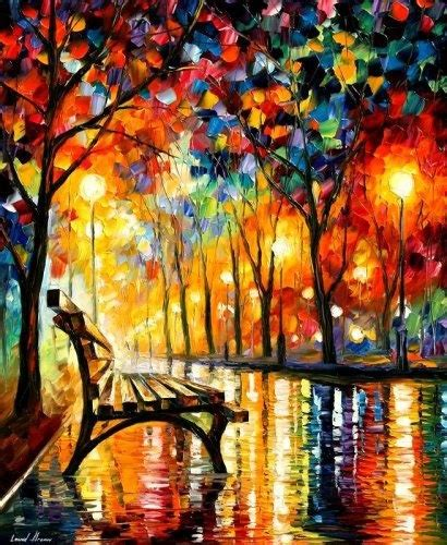 park bench painting park bench other peoples art pinterest