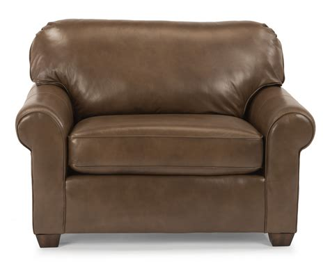 chair and a half recliner leather flexsteel living room leather chair and a half 3535 101