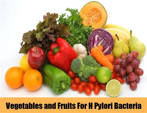 fruits h pylori 5 cures for h pylori bacteria how to cure h