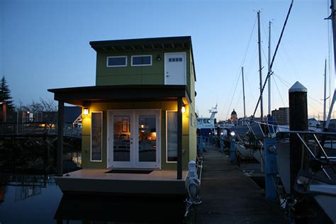 tiny house boats tiny house tub or boat for those of you without sea legs part 3