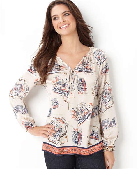 Stitch Blouse The B Club charter club peasant blouse fashion