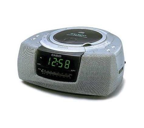 casio rt 500b am fm cd player alarm clock radio qvc