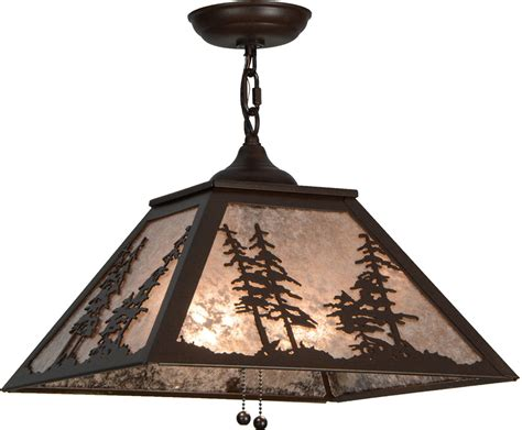 Rustic Pendant Lighting Fixtures Meyda 109955 Rustic Cafe Noir Silver Mica Pendant Light Fixture Mey 109955