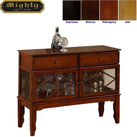 kitchen home bar products kitchen console cabinet vintage buffet bar tables wd