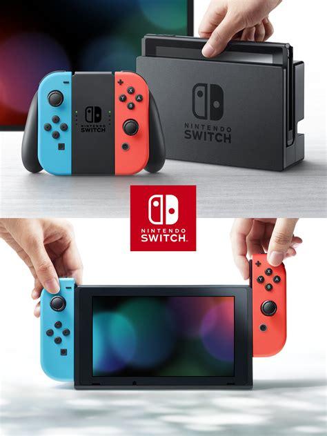 Nintendo Switch Neon consola nintendo switch neon blue con alkosto tienda