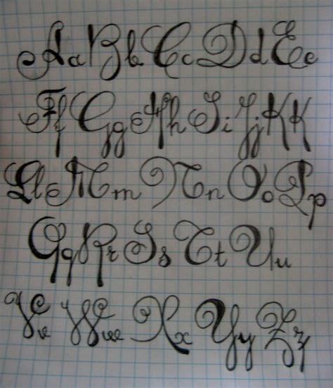 tattoo script alphabet free script alphabet by themusicjunkie on deviantart