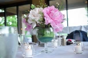 Peony Wedding Flower Arrangements - johns symposium on pinterest wine glass centerpieces