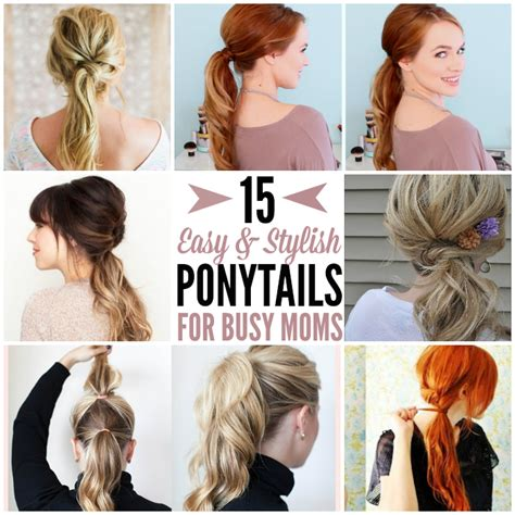easy haircuts for new moms cute easy hairstyles for busy moms hairstyles