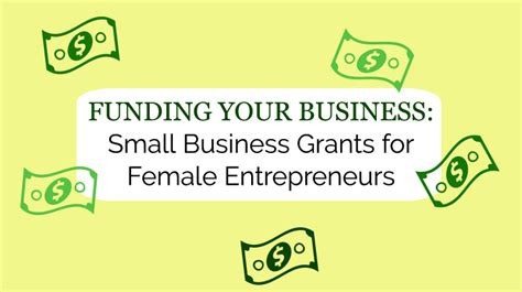 Small Home Business Grants Funding Your Business Small Business Grants For