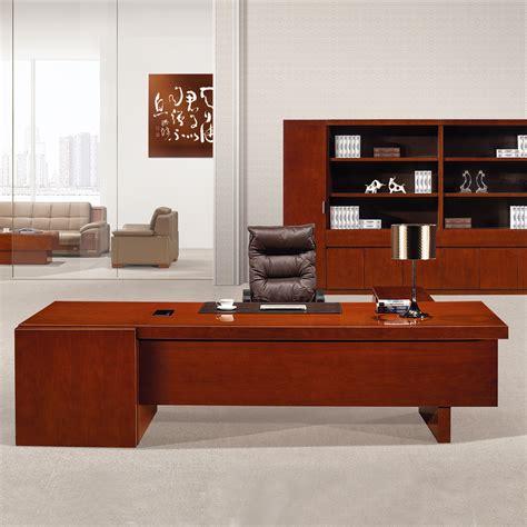 modern office table photos with wood veneer director