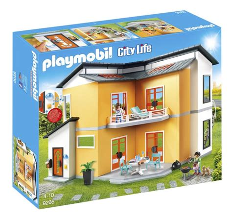 Playmobil Kinderzimmer Junge 6556 by Playmobil City 9266 Maison Moderne Dreamland
