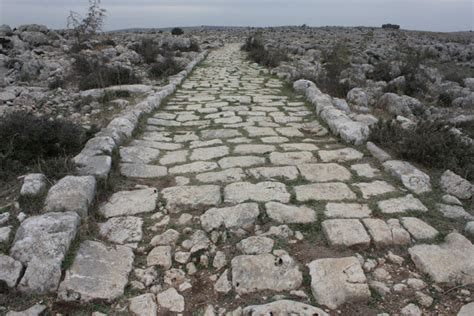 ancient greek roads roman engineering the roads the romans built the finest