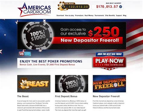 american card room americas cardroom us americas card room review