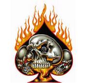 Pics Of Flaming Skulls  Free Download Clip Art On