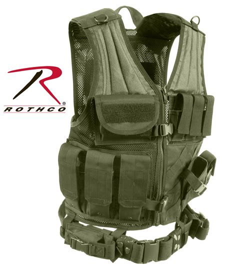 molle vest rothco cross draw molle tactical vest
