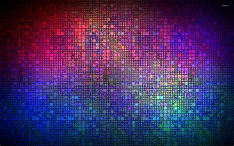 Mosaik Tapete by Multicolored Mosaic Wallpaper Abstract Wallpapers 26924