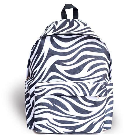 zebra pattern backpack zebra pattern waterproof backpack on luulla