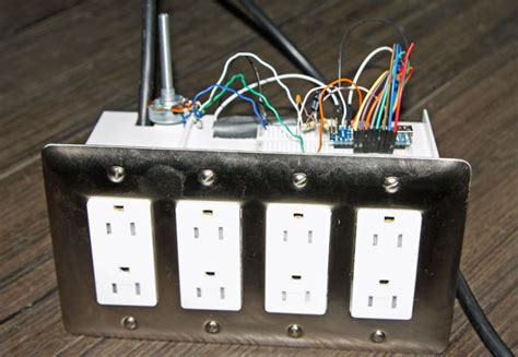 diy christmas lights controller
