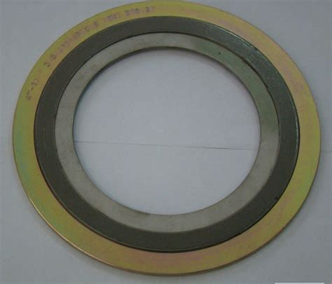 inner ring china spiral wound gasket with outer and inner ring photos