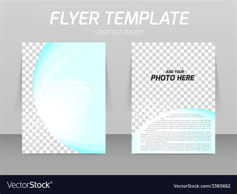 photo composite template flyer template vector booklet vectors 3380662