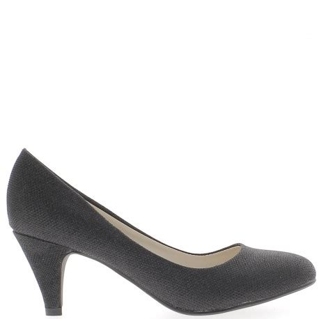 Heels Black 5cm by Black Shoes With Small Heels 6 5 Cm Chaussmoi