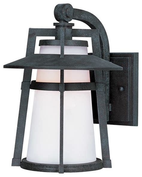 Asian Outdoor Lighting Calistoga 1 Light Outdoor Wall Lights In Adobe Asian Outdoor Lighting By Lighting New York