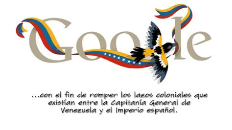 independencia de venezuela d 237 a de la independencia de venezuela google doodle hd
