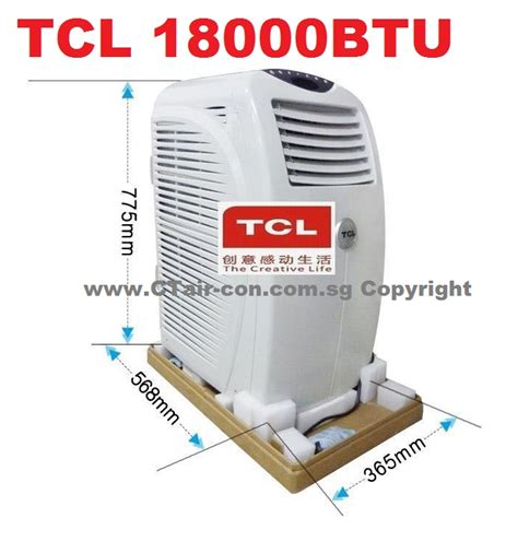 Ac Portable Tcl ct air con portable air con special offer 2018 free gift
